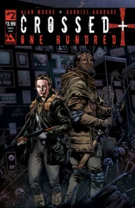 Cover of Crossed Plus One Hundred No.1, art by Gabriel Andrade. Image via Avatar Press